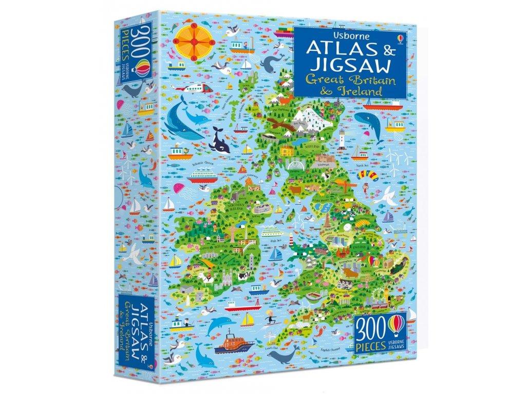 Atlas&Jigsaw Great Britain&Ireland