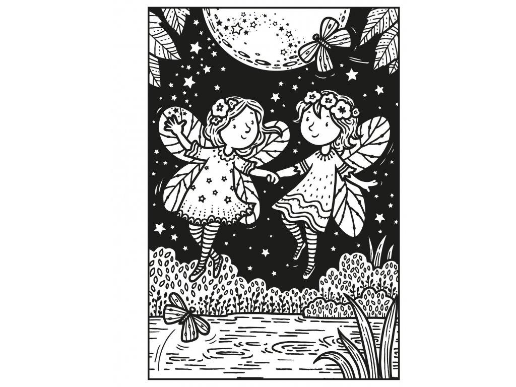 Usborne minis Magic Painting Book Fairies
