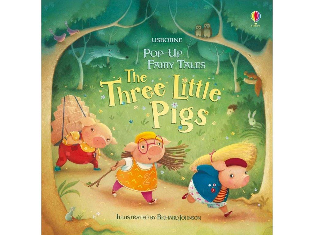 Pop up three little pigs