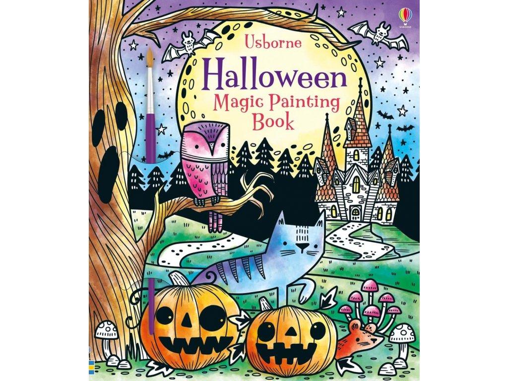 Magic painting Halloween