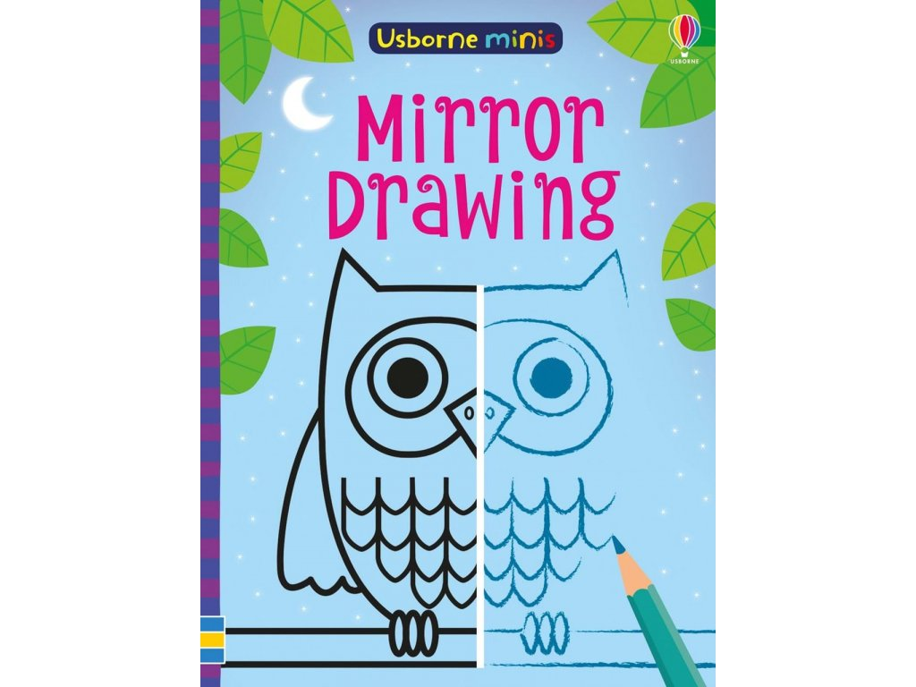 Usborne Minis Mirror drawing