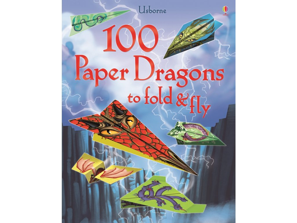 100 Paper Dragons to fold&fly 1