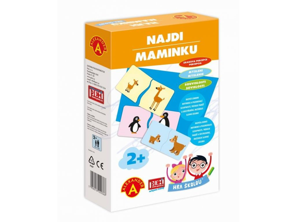 A2036 Hra skolou NAJDI MAMINKU 3Dbox 800x800 100dpi