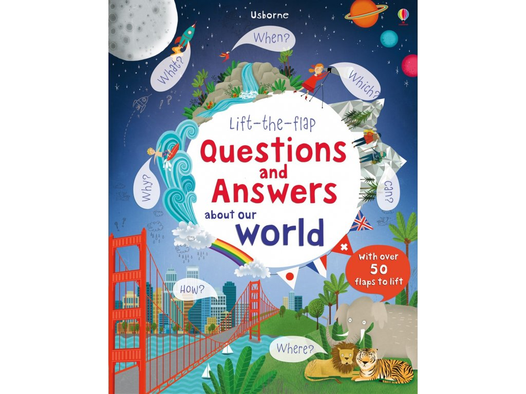 Lift the flap Q&A about Our world
