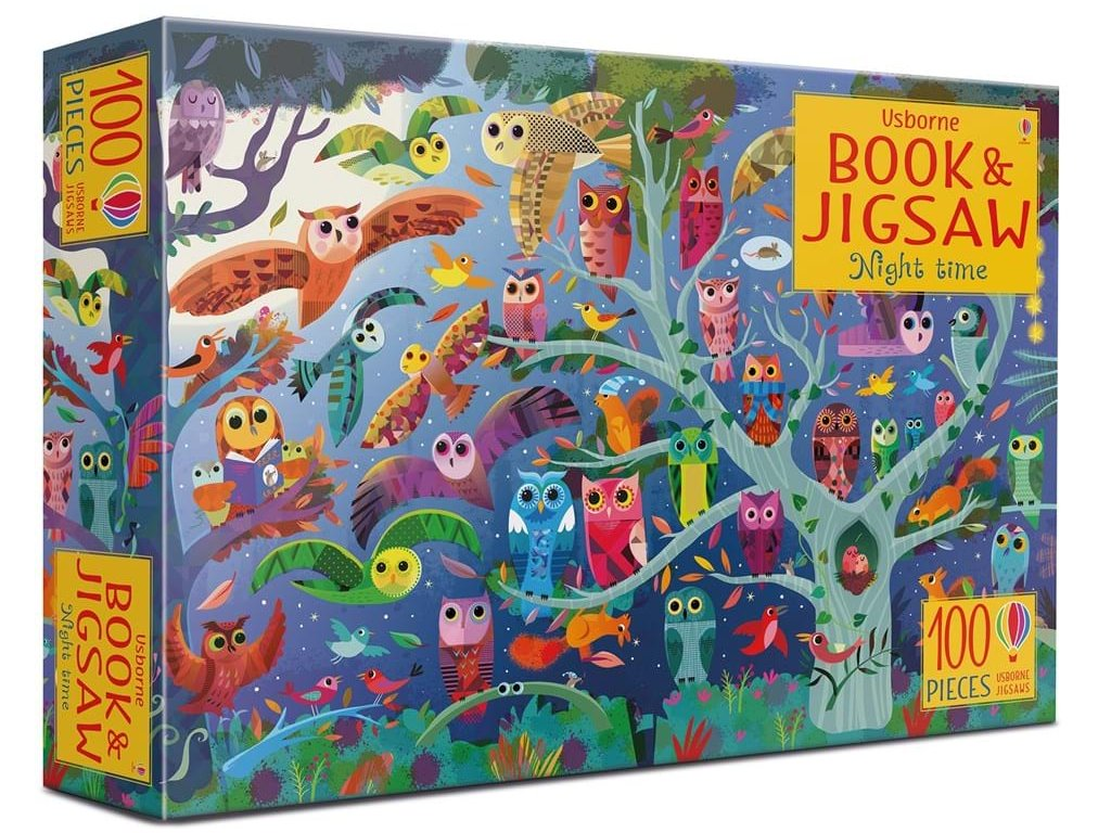 Night time Book and Jigsaw