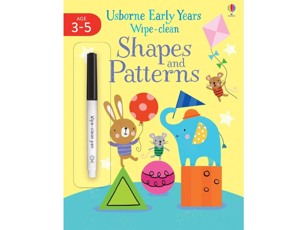 Early Years Wipe Clean Shapes and Patterns