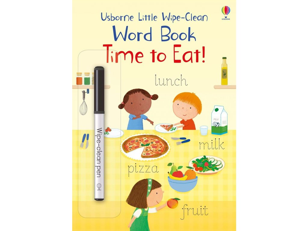Little Wipe Clean Word Book Time to Eat