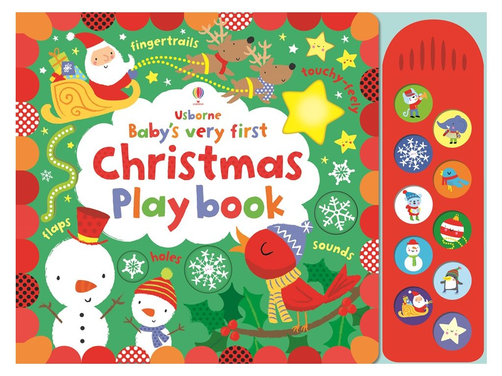 Baby's very Christmas play book 1