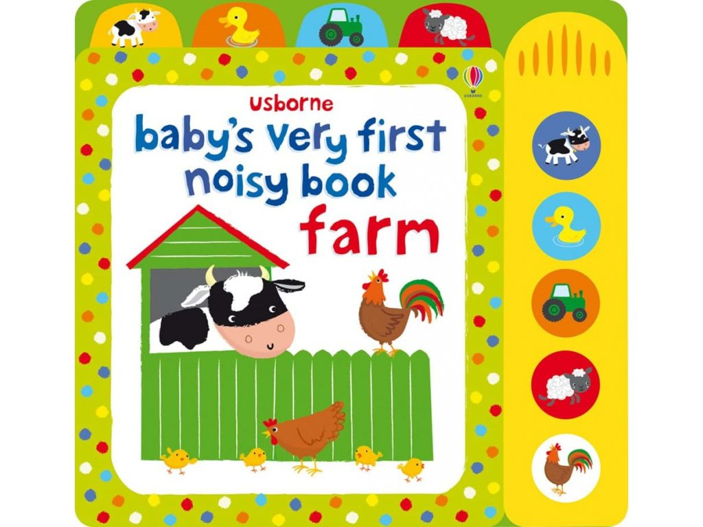 Baby's very first noisy book Farm 1
