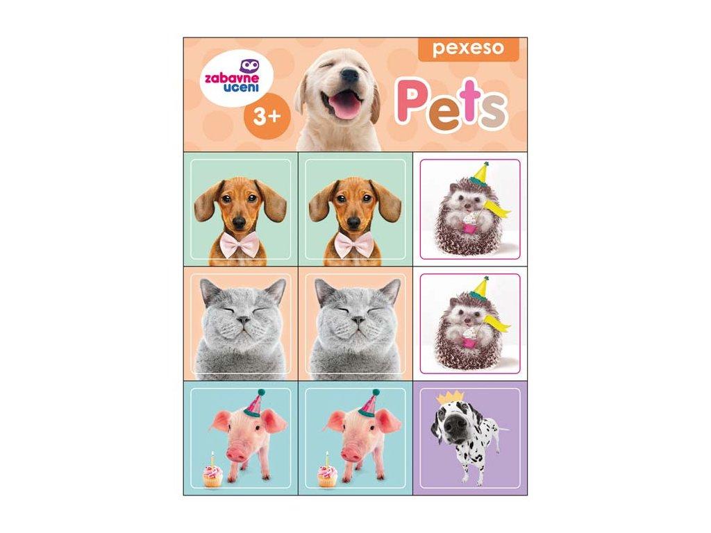 Pexeso pro nejmenší Pets 1