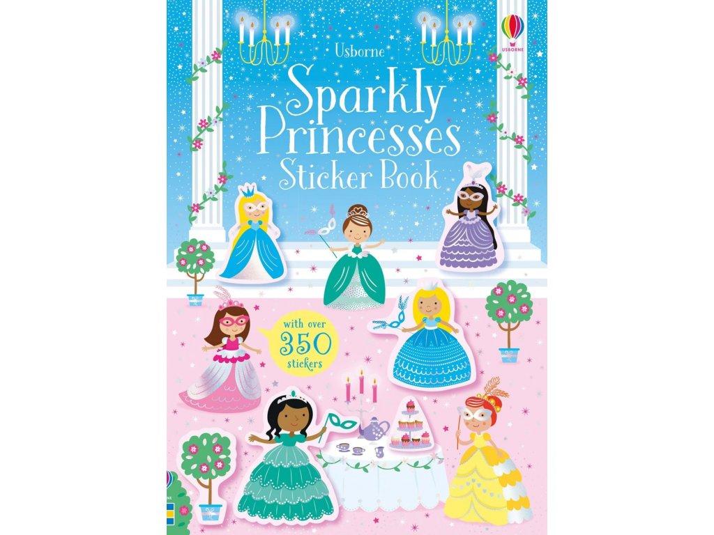 Sparkly Princesses Sticker Book
