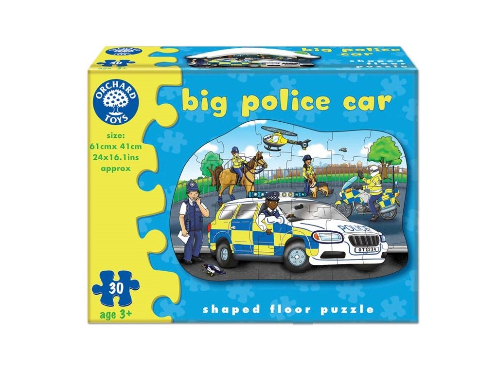Orchard Toys Puzzle Velké policejní auto 30 dílků 1