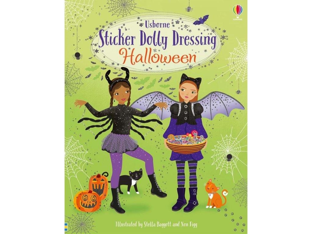 Sticker Dolly Dressing Halloween