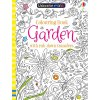 Garden colouring book with rub down transfers