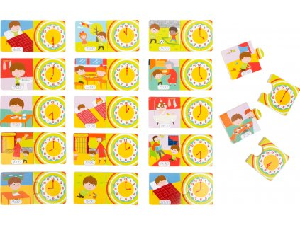 Telling Time Learning Puzzle 1