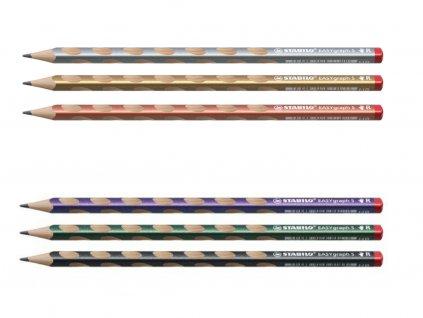 STABILO EASYgraph S metallic R všechny barvy