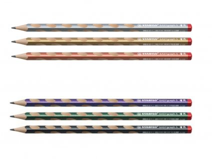 STABILO EASYgraph S metallic tenká tužka pro praváky
