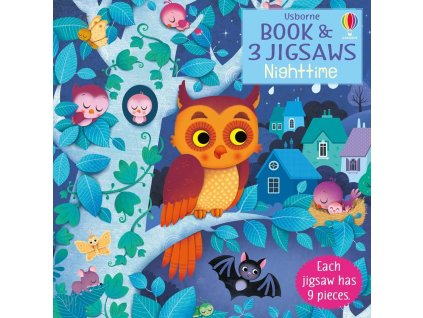 Book and Jigsaw Night time