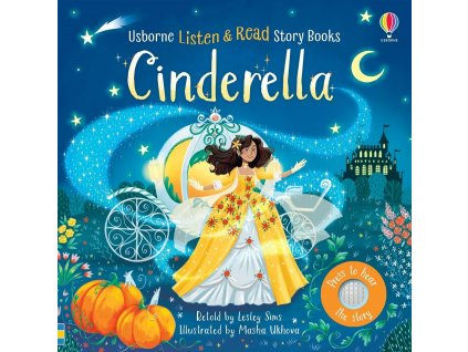 Listen and read story books Cinderella
