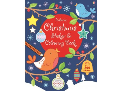 Christmas Sticker and Colouring Book 1