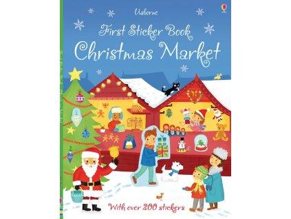 First Sticker Book Christmas Market 1