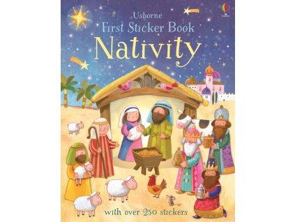 First Sticker Book Nativity 1