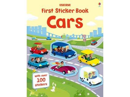 First Sticker Book Cars 1