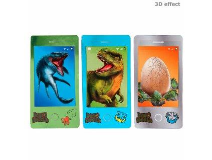 Dino World omalovánky (miniblok s 3D efektem) 1