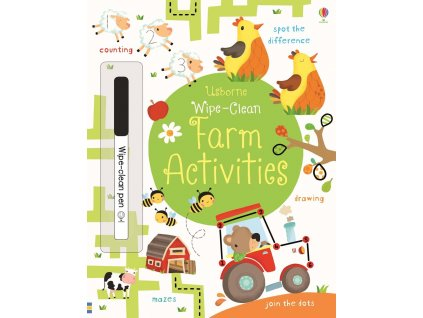 Wipe clean Farm Activities 1