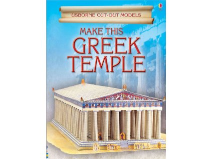 Cut Out Models Make This Greek Temple