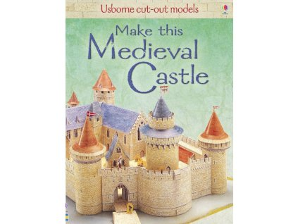 Cut Out Models Make This Medieval Castle