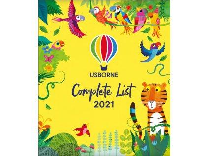 Usborne katalog 2021 titulní strana