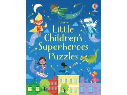 Little Children's Superheroes Puzzles 1