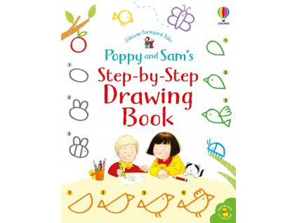 Poppy and Sam's Step by Step Drawing Book 1