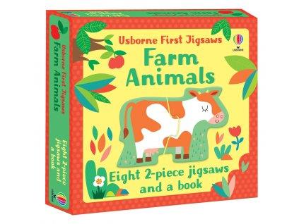 Usborne First Jigsaws Farm Animals 1