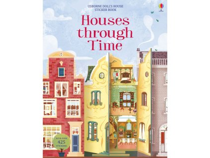 Houses Through Time Sticker Book 1