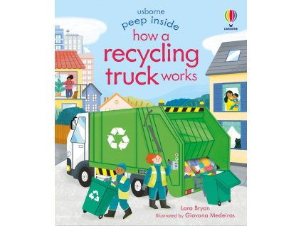 Peep Inside How a Recycling Truck Works 1
