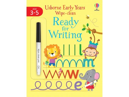 Early Years Wipe Clean Ready for Writing 1