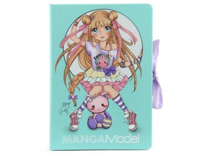 Zápisník s bločky Manga Model 1