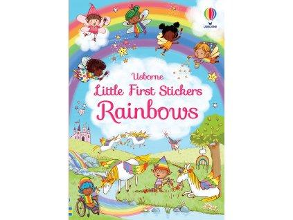 Little First Stickers Rainbows 1