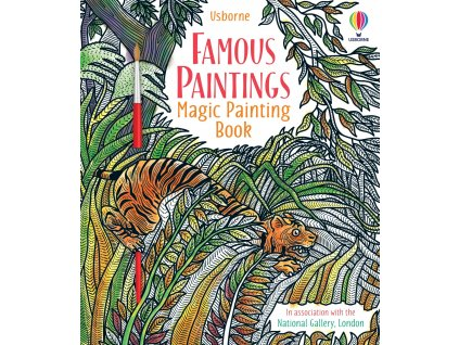 Magic Painting Book Famous Paintings 1