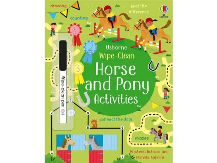 Wipe Clean Horse and Pony Activities 1