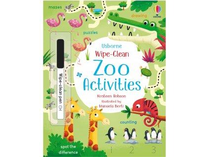 Wipe Clean Zoo Activities 1