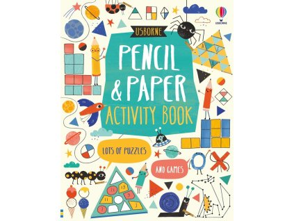Pencil and Paper Activity Book 1