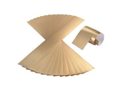Zlaté pruhy na výrobu korunky pro princeznu či prince