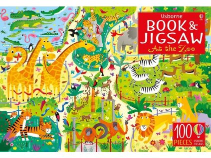 Book&Jigsaw At the Zoo