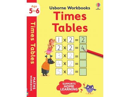 Usborne Workbooks Times tables 5 6 1