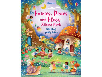 Fairies, Pixies and Elves Sticker Book 1