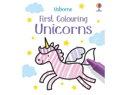 First Colouring Unicorns 1