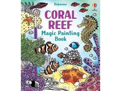 Magic Painting Book Coral Reef 1